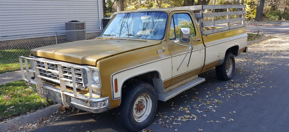 Old Chevy Pickup Truck let you down, call Cash for Cars and let us pay you and tow it away.